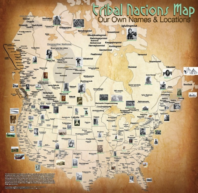tribal maps