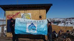 Standing Rock School Banner